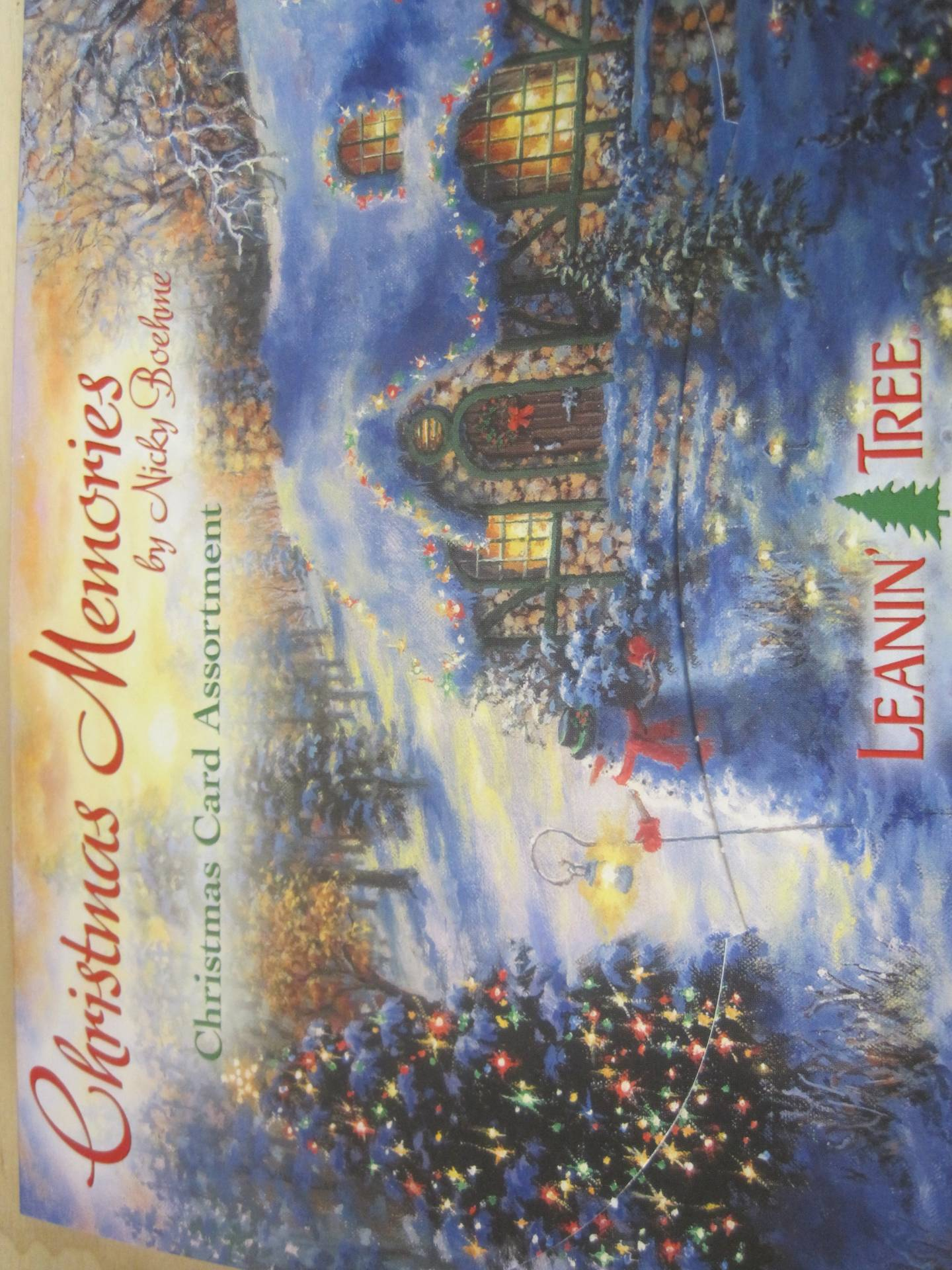 Leanin Tree Christmas Cards. 10 holiday christmas greeting cards ...
