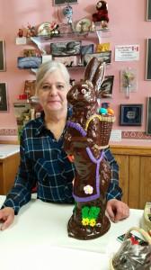 Diane With Best Buddy Betty Bunny 20170408