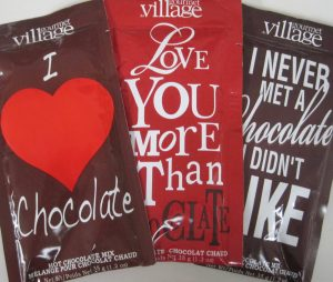 Hot Chocolate fun packaging