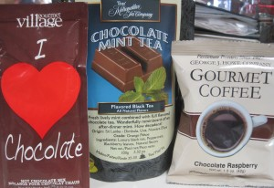 Hot drinks trio - chocolate