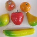 Marzipan large fruits