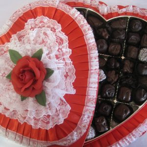 Lace Chocolate Box