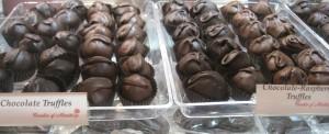 Truffles - Chocolate, Chocolate Raspberry