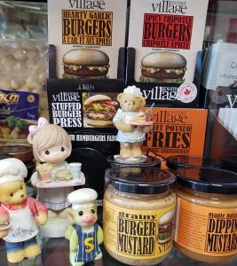Burgers - straight on