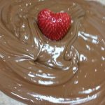 Melted Chocolate with Strawberry