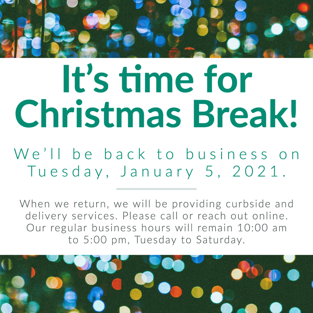 It is time for Christmas Break!